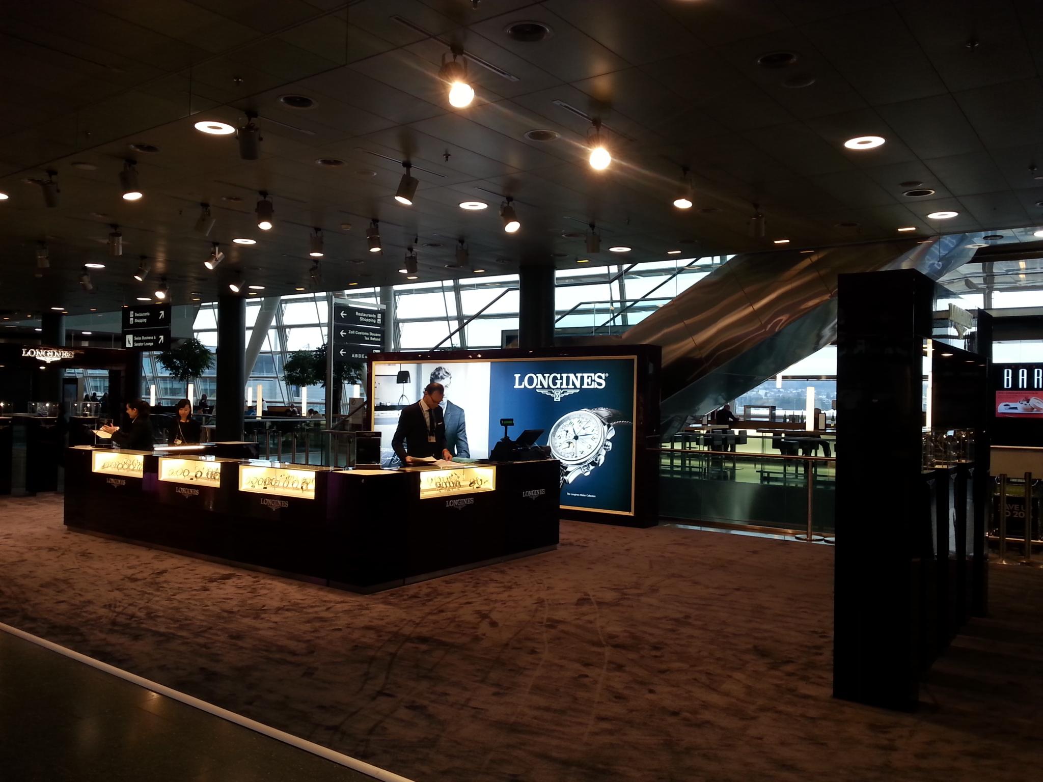 Aeropuerto Zurich